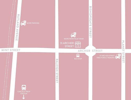 Carlisle Parking Map