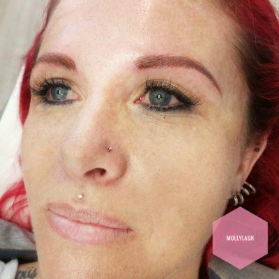 Eyebrow Microblading After