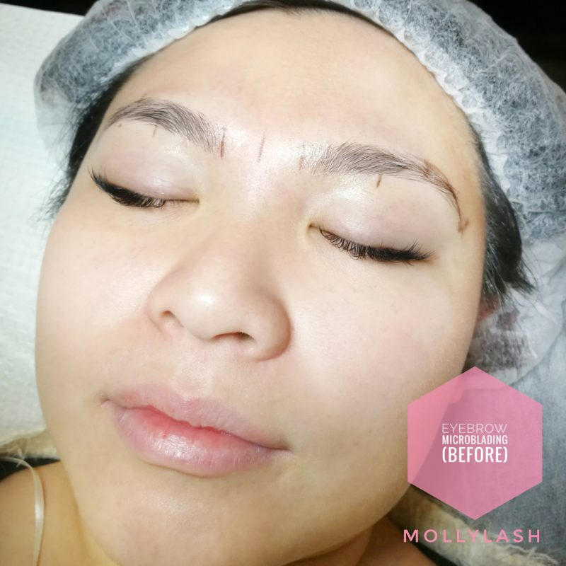 Microblading Client 4 – Before