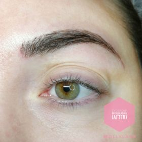 Eyebrow Microblading After 3