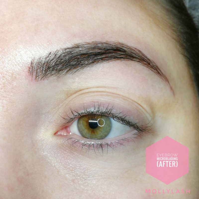 Microblading Client 6 – After
