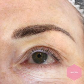 Eyebrow Microblading After 4
