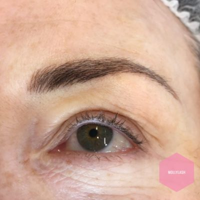 Eyebrow Microblading After 4