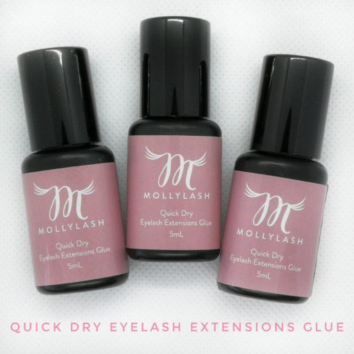 Mollylash Quick Dry Eyelash Extensions Glue