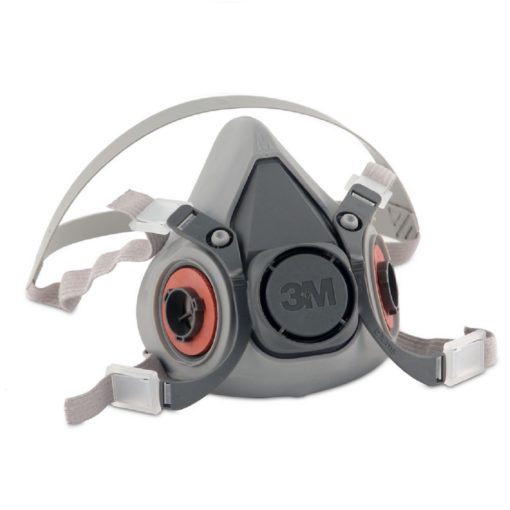 3M 6000 Series Half Face-piece Respirator Front View
