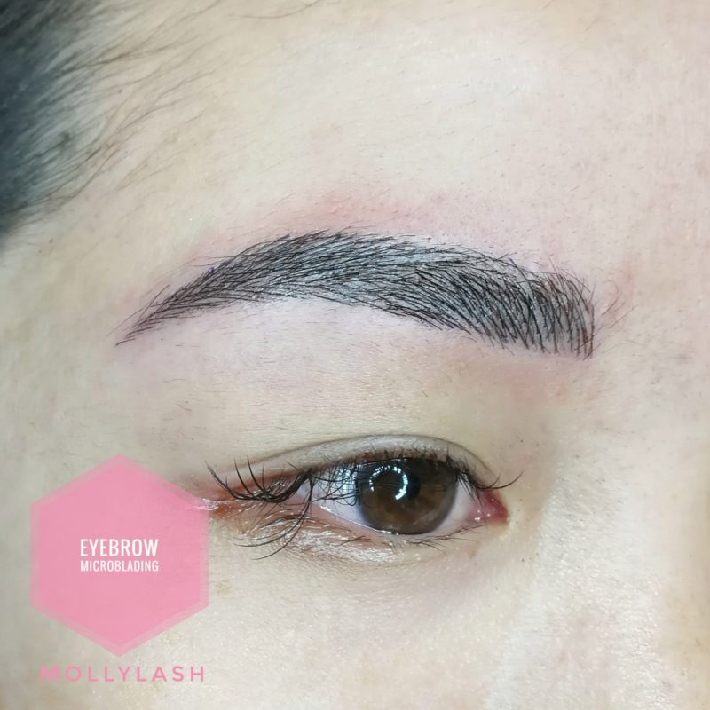 Microblading Client 2 - After