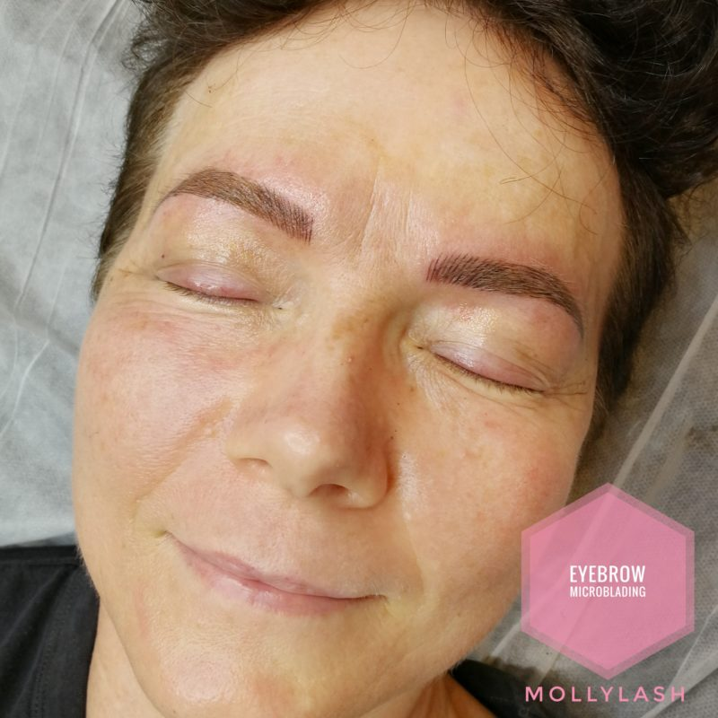 Microblading Client 3 - After
