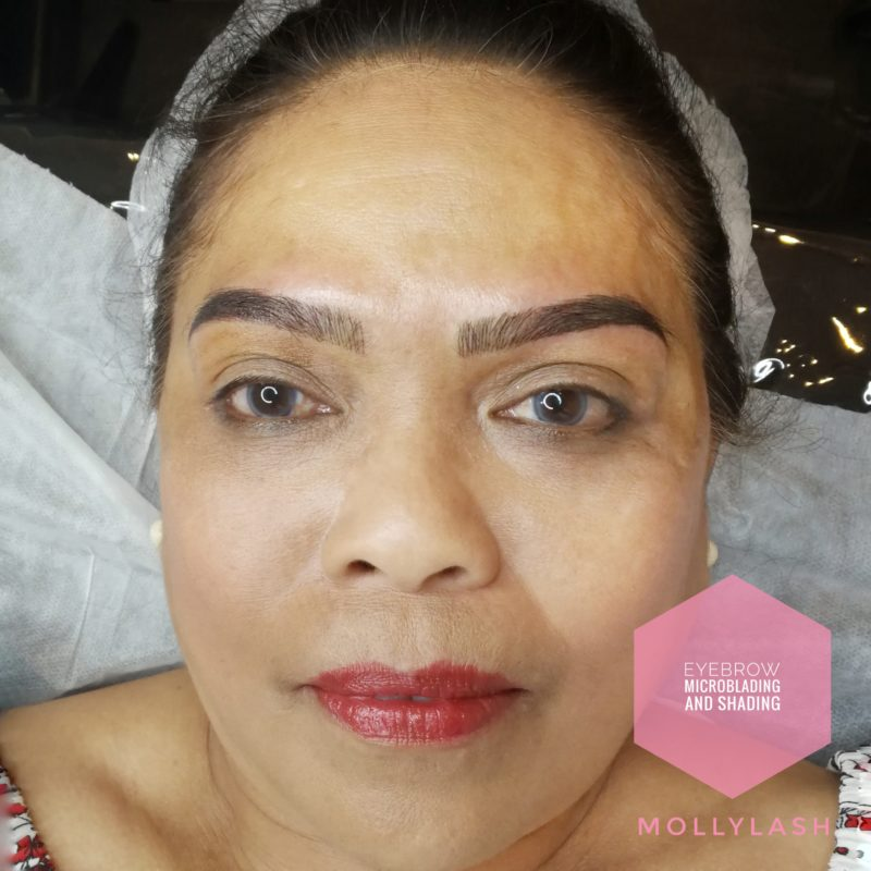 Microblading & Shading Client 2 - After