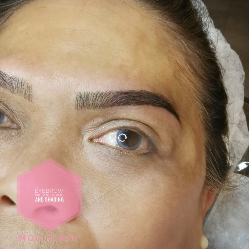Microblading & Shading Client 2 - After 2