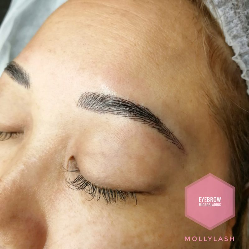 Microblading Client 1 - After
